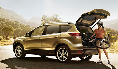All-New Ford Kuga Side Image